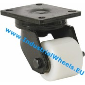 Swivel caster, Ø 85mm, Polyamide wheel, 800KG