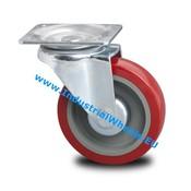 Zestaw obrotowy, Ø 125mm, elastycznej gumy, 250KG