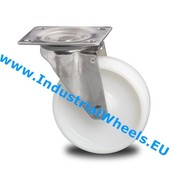 Swivel caster, Ø 125mm, Polyamide wheel, 200KG