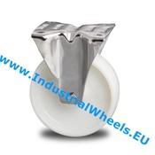 Bockrolle, Ø 150mm, Rad aus Polyamid, 300KG