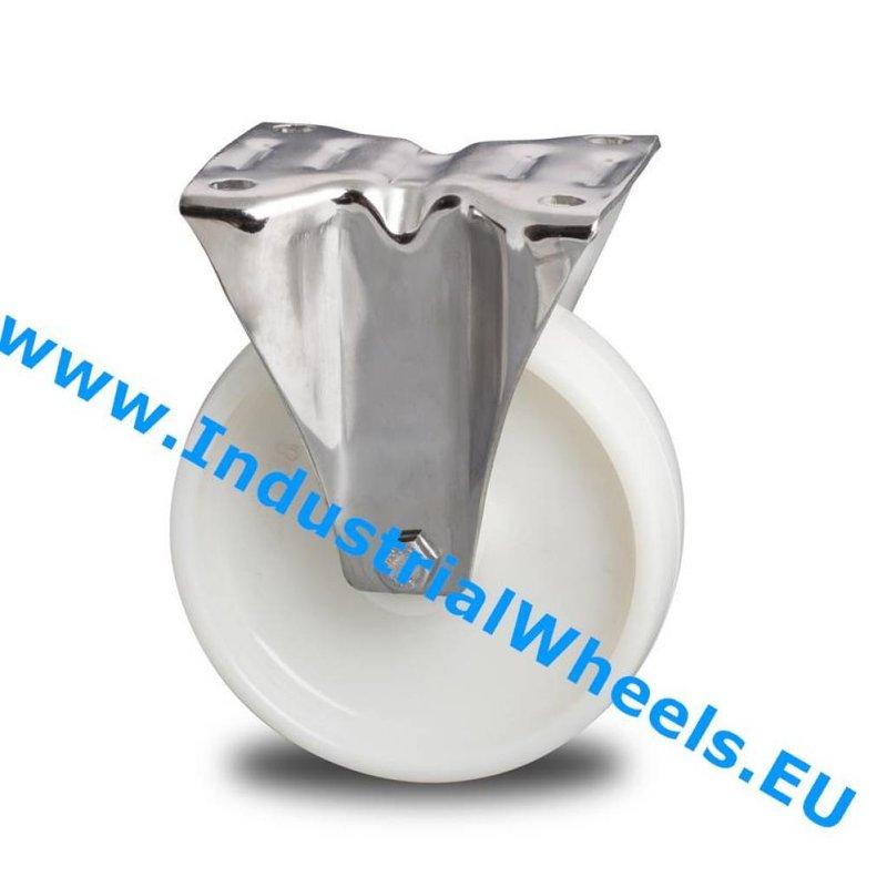 Fast hjul, Ø 150mm, PolyamidHjul, 300KG
