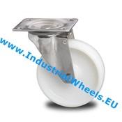 Drejeligt hjul, Ø 150mm, PolyamidHjul, 300KG