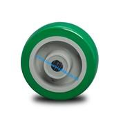 Hjul, Ø 100mm, Polyuretan, 250KG