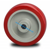 Wheel, Ø 125mm, Injected polyurethane, 250KG