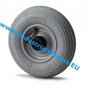 Wheel, Ø 200mm, pneumatic tyre rip profile, 75KG