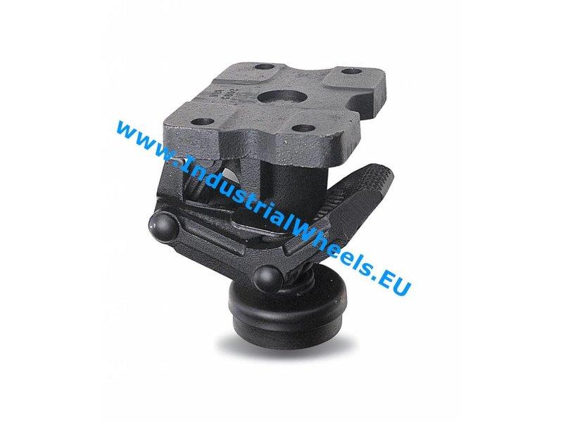 Vk Lock Floor Truck Locks Tlch Cast Iron Castor Wheels