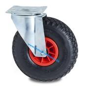 Drejeligt hjul, Ø 260mm, Dæk blokprofil, 150KG