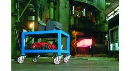 Vogne, vogne og ladvogne til materialehåndtering
