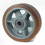 Vulkollan® Bayer hjulbane støbegods, Ø 350x100mm, 2600KG