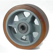 Vulkollan® Bayer opona litej stali, Ø 350x100mm, 2600KG