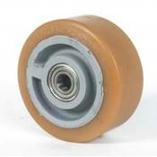 Vulkollan® Bayer hjulbane støbegods, Ø 250x65mm, 1350KG