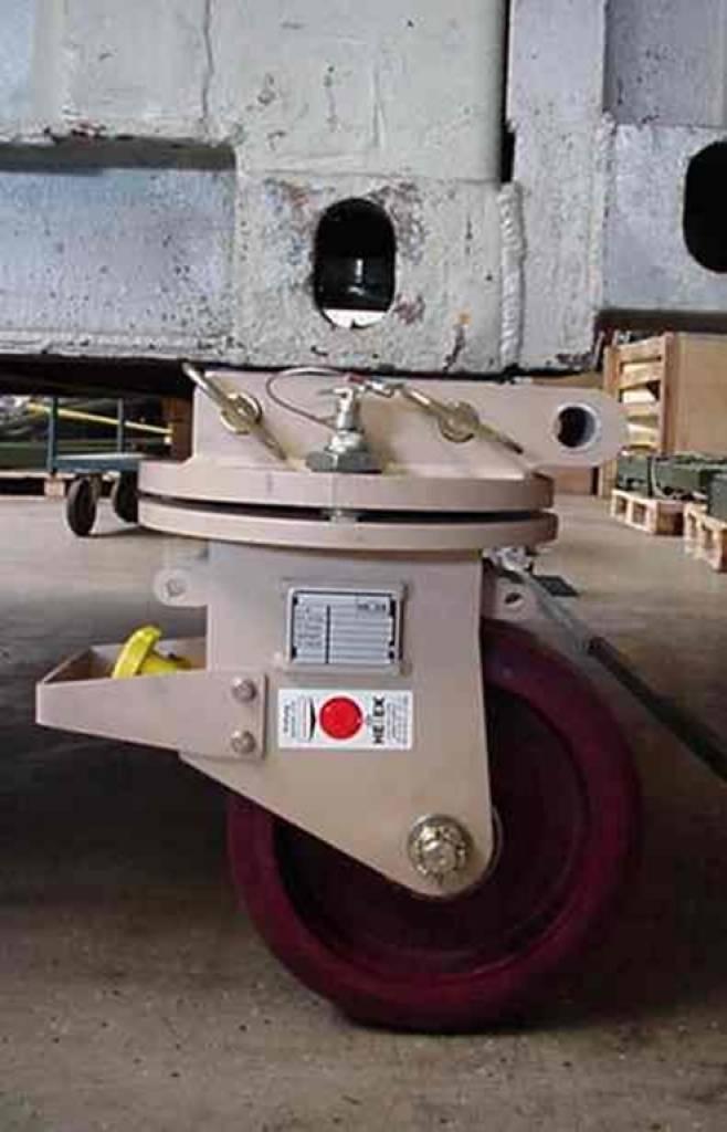 Set Of 4 Swivel Corner Towcastors For Moving Iso Freight