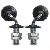 drejelig hjul , Ø 35mm, elastisk gummi, 12KG