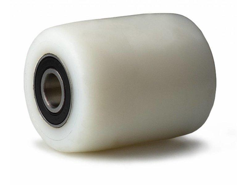 wózków paletowych Koła z koła poliamid PA 6, Precyzyjne łożysko kulkowe, koła / rolki-Ø82mm, 500KG