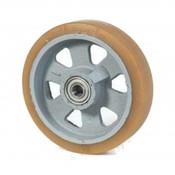 Vulkollan® Bayer hjulbane støbegods, Ø 200x50mm, 1000KG