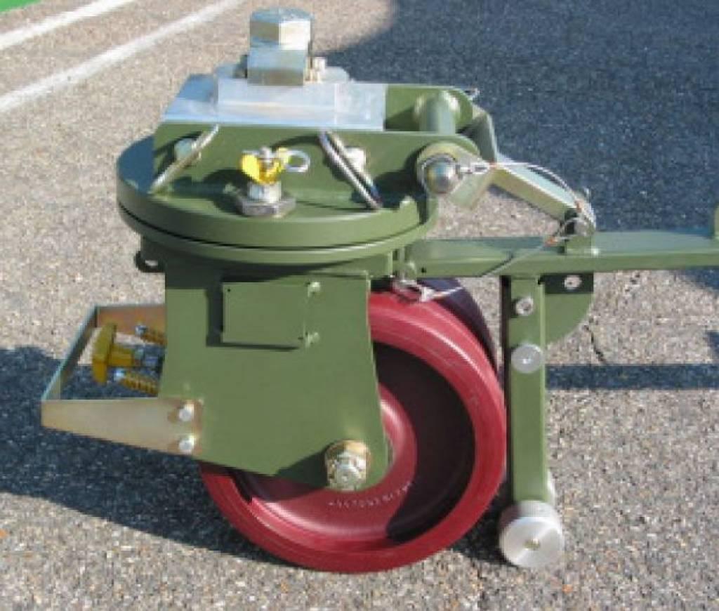 16 Ton Iso Freight Container Castor Set Castor Wheels Expert
