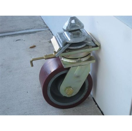 VK-Rollen 10.000 KG ISO container corner castor set of 4 swivel castors