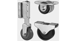 Furniture Castors & Rollers - Light & Heavy Duty Industrial Wheels for Furniture