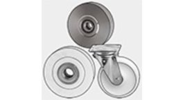 Nylon Wheels With Fixed and Swivel Castors