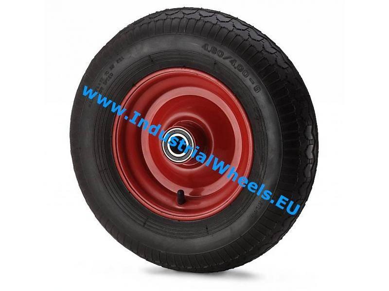 roue 400mm pneumatique profil pav 250kg roues et. Black Bedroom Furniture Sets. Home Design Ideas