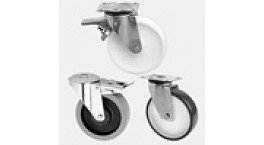 Most commonly used swivel castors