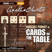 Agatha Christie Hercule Poirot in Cards On The Table - Dramatisation