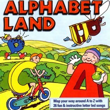 Philip Hawthorn Alphabet land - Map your way around A to Z with 26 fun & instructive letter led songs