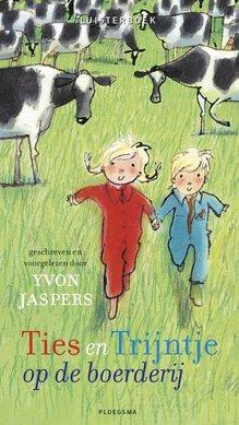 Yvon Jaspers Ties en Trijntje op de boerderij