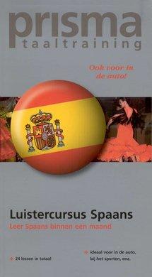 Willy Hemelrijk Luistercursus Spaans - Leer Spaans binnen een maand (serie: Prisma Taaltraining)