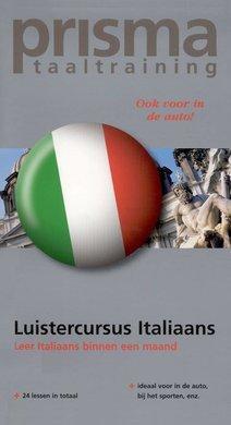 Willy Hemelrijk Luistercursus Italiaans - Leer Italiaans binnen een maand (serie: Prisma Taaltraining)