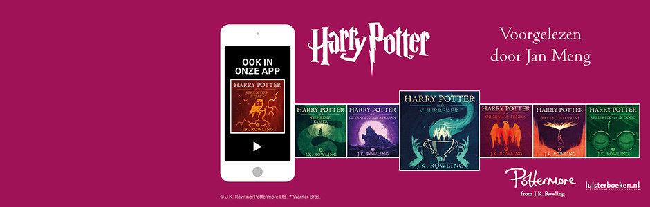 Jan Meng leest Harry Potter