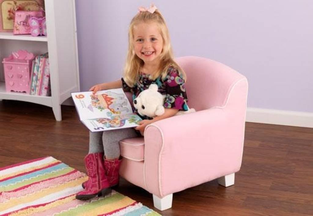 Slaapkamer Fauteuil : roze slaapkamer stoel : Winkel Brocante Curiosa ...