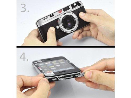 Наклеивающаяся защитная пленка Leica для iPhone 4, 4s