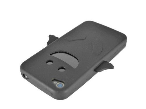 Черный Angel силиконовый чехол ангел для iPhone 4, 4S