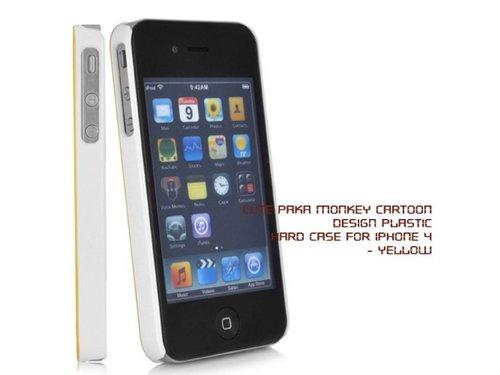 Пластиковый чехол задняя крышка обезьяна для iPhone 4/4S