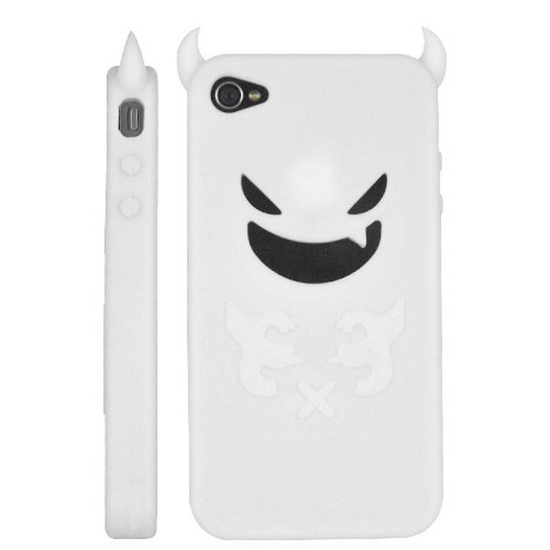 Силиконовый чехол дьявол iPhone 4/4S