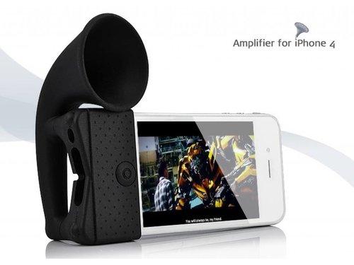Усилитель звука горн динамик для iPhone 4, 4S