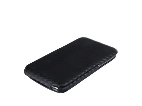 Карбоновый чехол книжка для iPod Touch 4