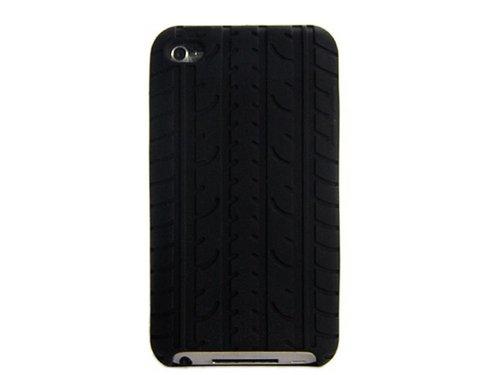 Силиконовый черный чехол шина для iPod Touch 4
