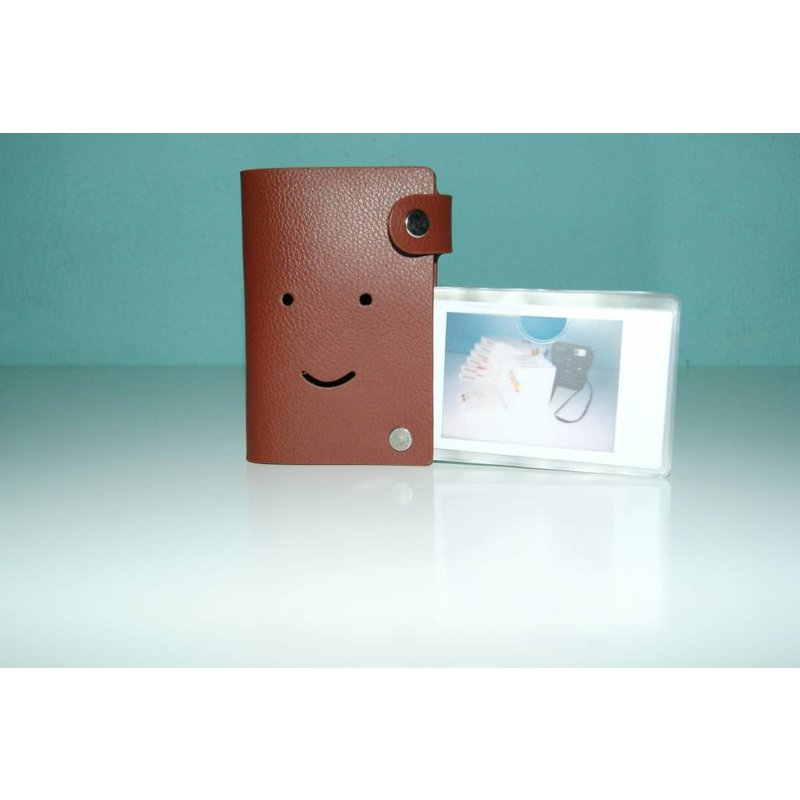Карманный фотоальбом Fuji instax mini Коричневый