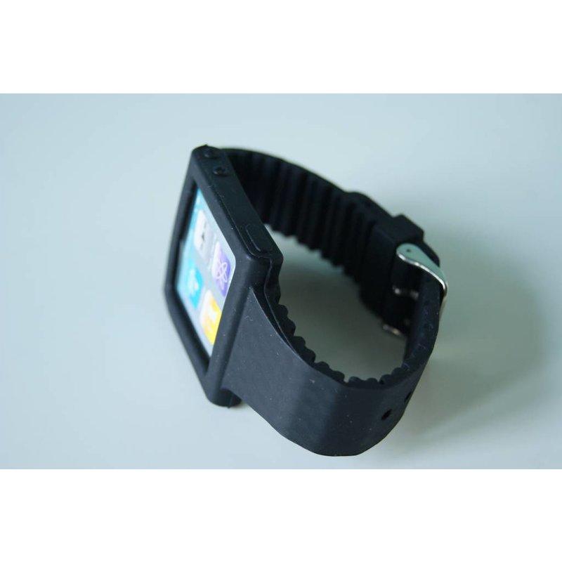 Черный ремешок для iPod Nano 6G