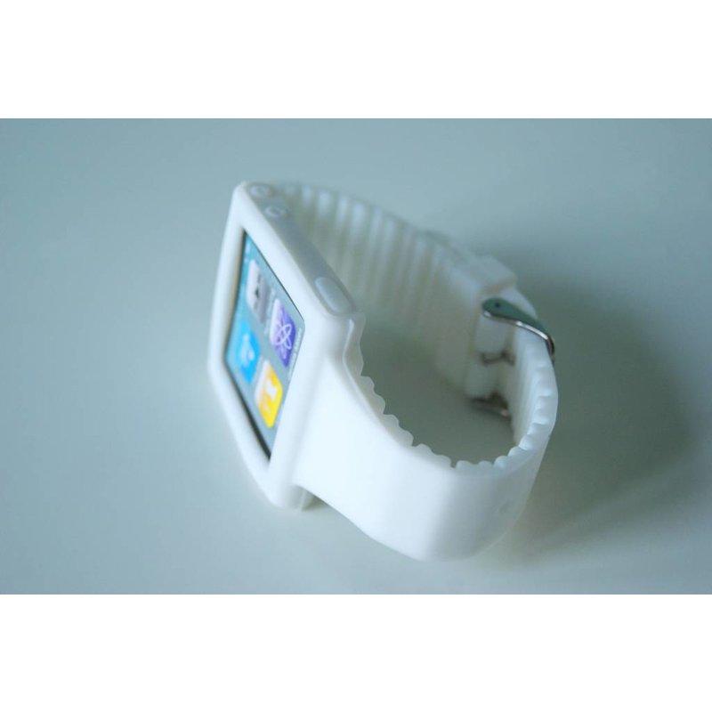 Белый ремешок для iPod Nano 6G