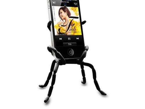 Spider Dock подставка для iPhone 4,4s и смартфонов Черный
