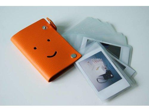 Кожаный фотоальбом для фотографий Fujifilm Instax Mini