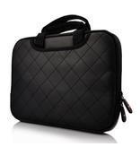 Кожаная сумка кейс с ручками для iPad 2 3 4 Черная