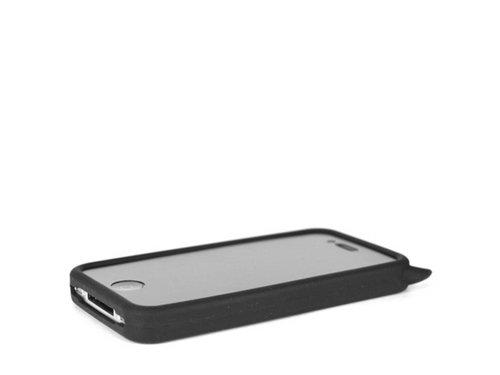 Черный силиконовый чехол дьявол Devil для iPhone 4, 4S