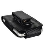 Вертикальный карбоновый кейс чехол кобура для iPhone 3GS, 4, 4s