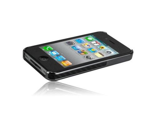 Прочный карбоновый чехол задняя крышка для iPhone 4, 4S