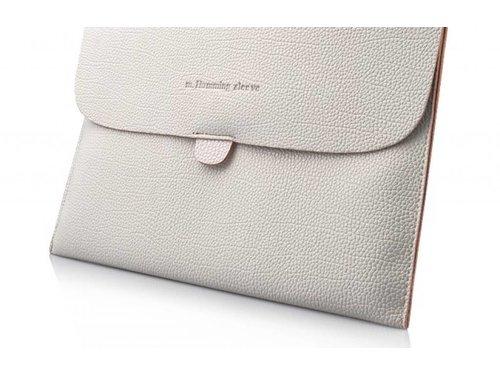 Мягкий кожаный конверт чехол для iPad 2 3 4 Белый