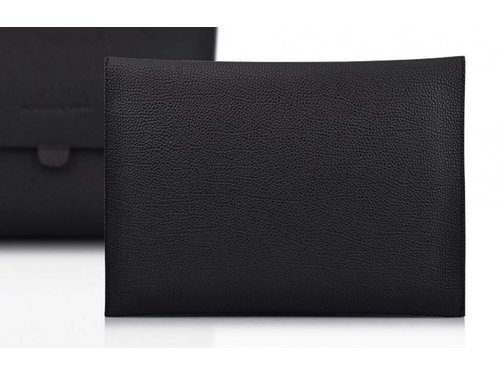 Мягкий кожаный конверт чехол iPad 2 3 4 Черный
